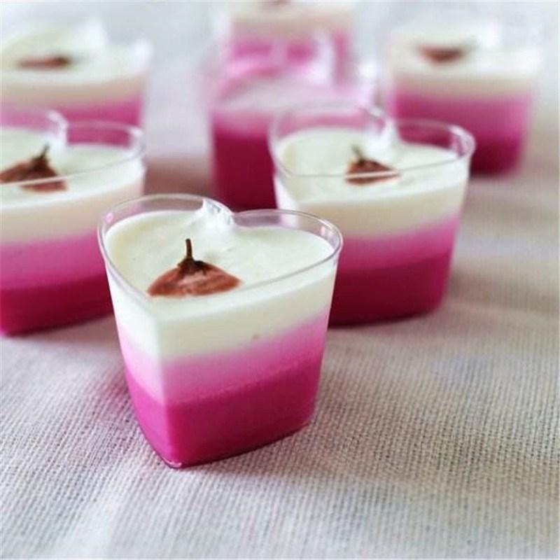 布丁木糠杯 心形杯 提拉米苏杯 慕斯杯 果冻杯冰激凌杯50只