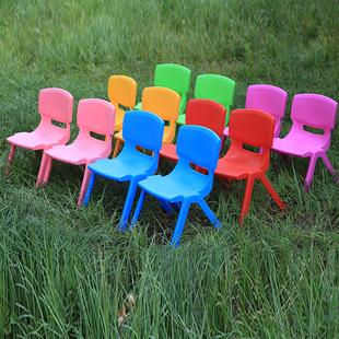 塑料靠背椅子加厚儿童桌椅宝宝椅