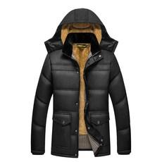 Куртка Плюс бархат утолщенной среднего возраста