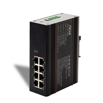Tanghu Lake Industrial Network Switch 8 hundred Gigabit Truck Rail type non-managed industrial-grade transceiver 6508F