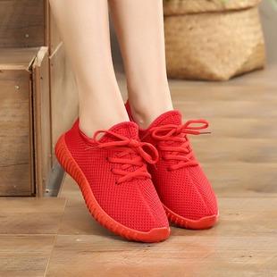 老北京布鞋女鞋百搭平底小红鞋女单鞋妈妈棉鞋学生系带运动休闲鞋