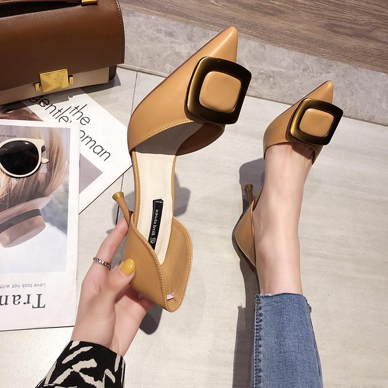 网红凉鞋仙女风2019新款夏季高跟鞋需要用券