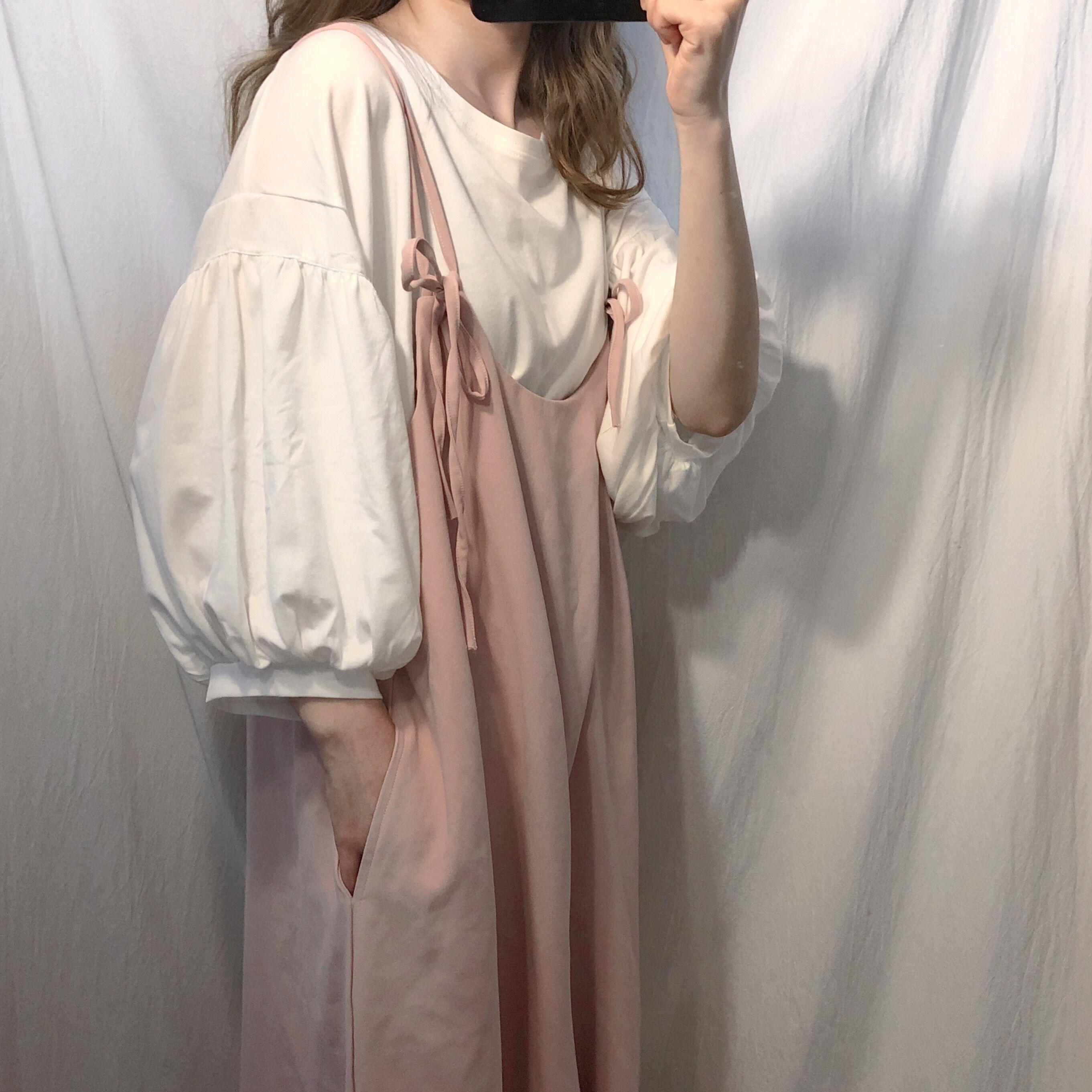 11-30新券套装裙女夏季2019新款潮洋气减龄韩版吊带裙子网红气质两件套俏皮