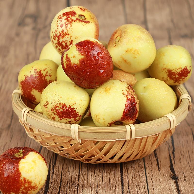 大荔冬枣5斤包邮现货当季时令新鲜水果整箱脆甜青枣孕妇酥脆红枣
