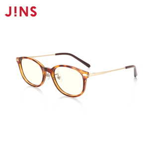 jins睛姿儿童轻量框防蓝光25%眼镜