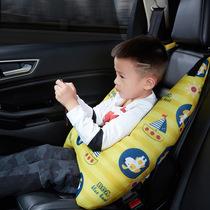 汽车头枕护颈枕头车载车内记忆棉侧睡觉腰靠枕座椅脖子一对车用品