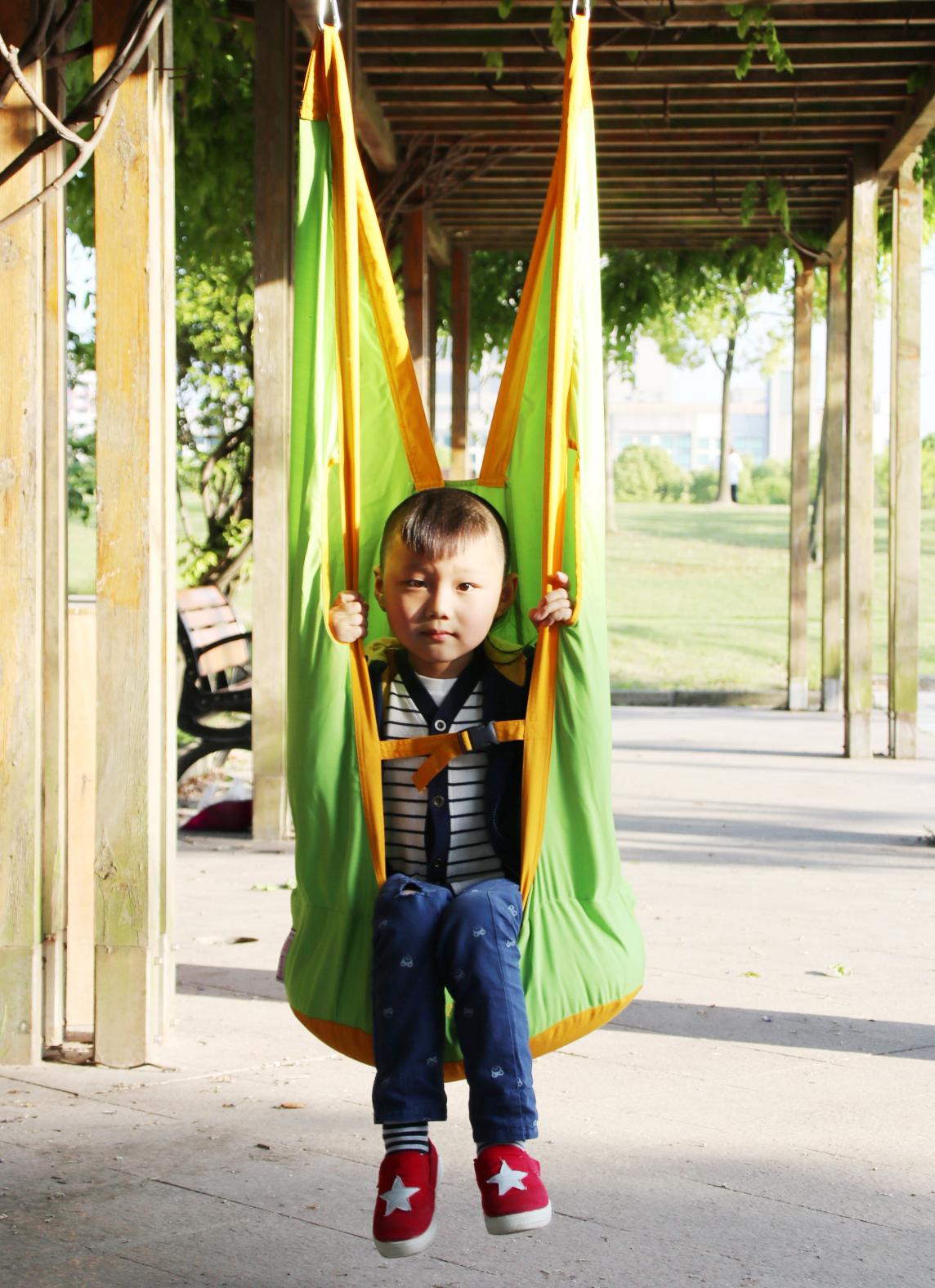 儿童布袋秋千吊椅室内便携式吊床热销0件不包邮