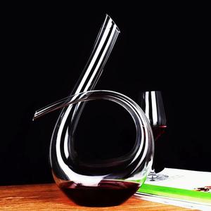 领5元券购买红酒醒酒器壶无铅水晶葡萄酒分酒器玻璃倒酒器家用个性欧式酒具