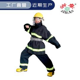 【浙安工厂店】灭火阻燃战斗防护服 02款藏色棉服单衣