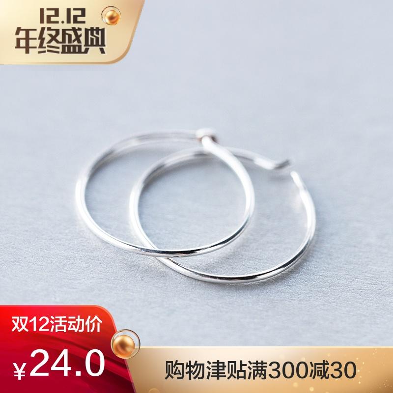 韩版圆形耳环圈耳饰