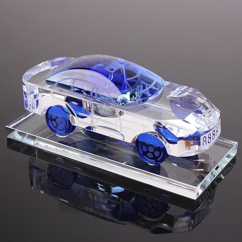 汽車香水座式香水瓶 水晶車載車用香水 車模車內飾品擺件用品