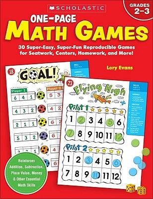 【预售】One-Page Math Games