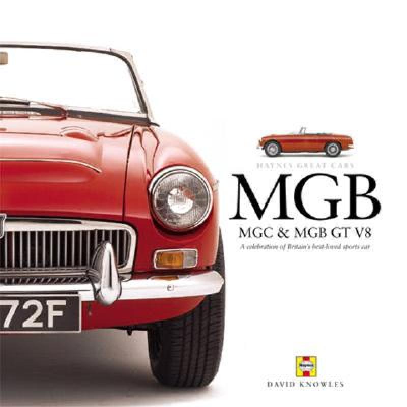 【预售】MGB MGC & MGB GT V8: A Celebration of Britains