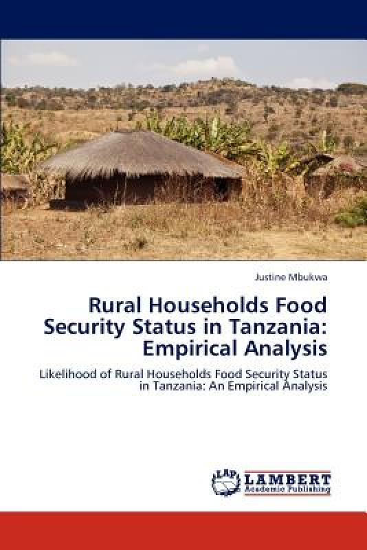 【预订】Rural Households Food Security Status in Tanzania: