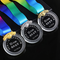 Crystal Small medal listed custom lettering production Medal Medal custom gold medal custom Glass Medal