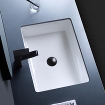 椭圆方形盆洗手盆陶瓷台下盆嵌入式石下盆洗脸盆洗漱洗面盆洗手槽