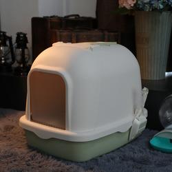 猫砂盆全封闭式大号特大号除臭超大猫厕所半自动猫盆拉屎防臭猫咪