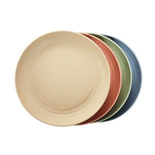 小麥秸稈餐具盤子塑料北歐家用創意ins宜家吐骨碟骨頭盤日式菜盤