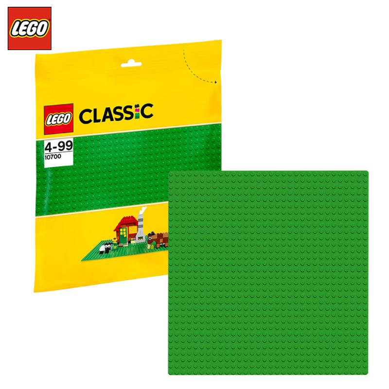 乐高底板LEGO经典创意绿色垫板拼砌板10700儿童小颗粒积木玩具
