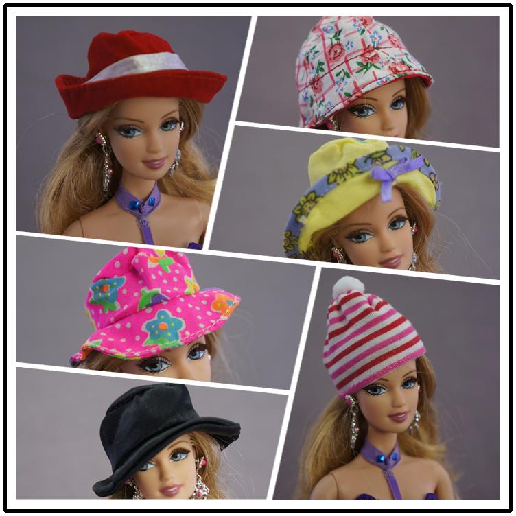 换装过家家芭芘娃娃配饰 巴比配件 娃娃帽子肯 太阳帽 棒球帽
