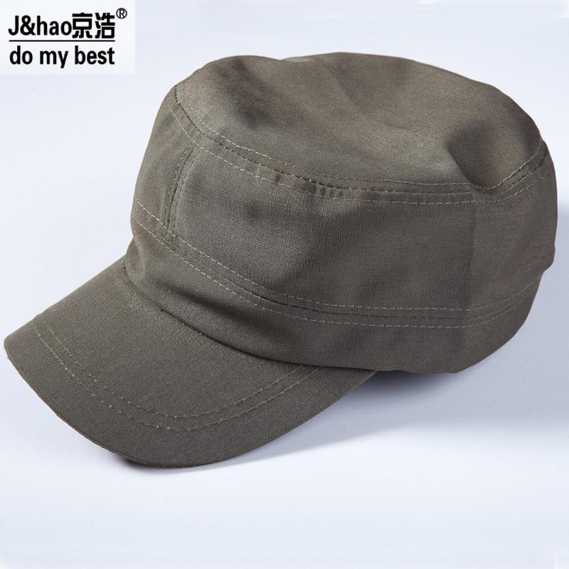 Хао Пекин одежда спецодежда инструмент Cap вскользь шляпу холст открытый шляпа военная шапка шляпа MZ002