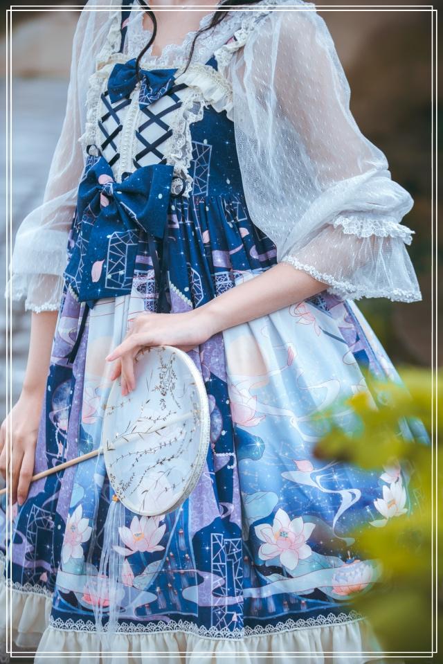 [Lianxiang original] jsk China Lolita full range sold out of stock Lolita daily dress