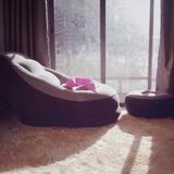 木优懒人沙发榻榻米充气沙发床小户型休闲躺椅单人小沙发椅卧室女