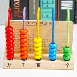 计数器小棒儿童算盘小学生一年级数数棒珠心算术加减法算数学教具