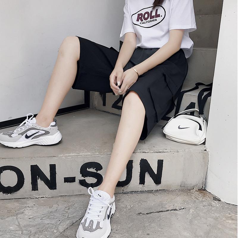 59.00元包邮夏季网红酷酷女孩穿搭街拍工装运动