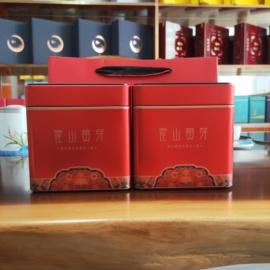 霍山黄芽2020新茶明前特级黄芽正宗安徽大化坪黄茶茶叶250g礼盒装