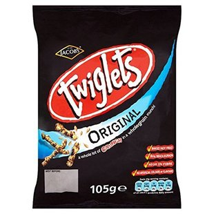 Jacobs Twiglets Original 12 x 105g Bulk Buy