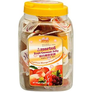 Jelly 1500 Assorted Coconut Jar Jin Gram