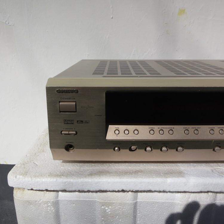 二手日本Onkyo/安桥 TX-SR404功放机5.1音响家庭影院进口原装功放
