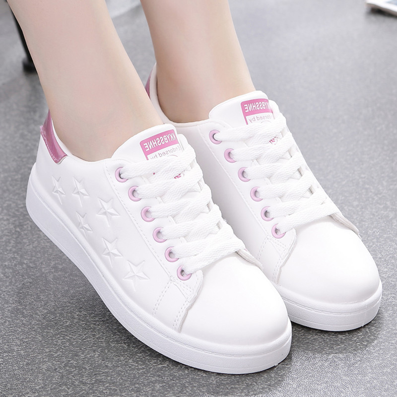 12-year-old 13 spring and autumn 14 junior high school students Xiaobai shoes 16 senior high school girls flat shoes Korean sports casual shoes