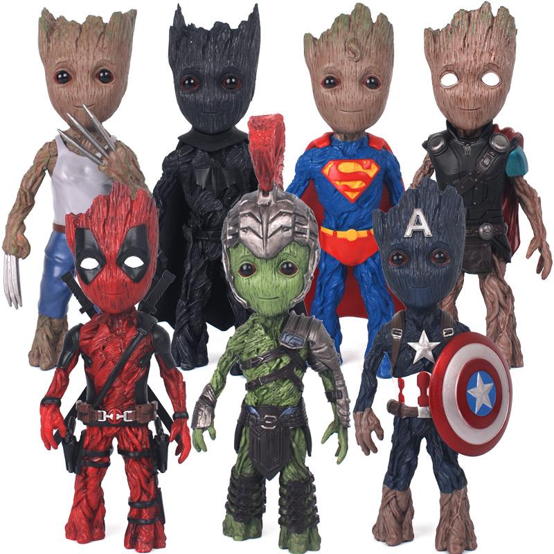 树人格鲁特groot漫威复仇者联盟英雄宇宙cosplay树脂模型玩具摆件