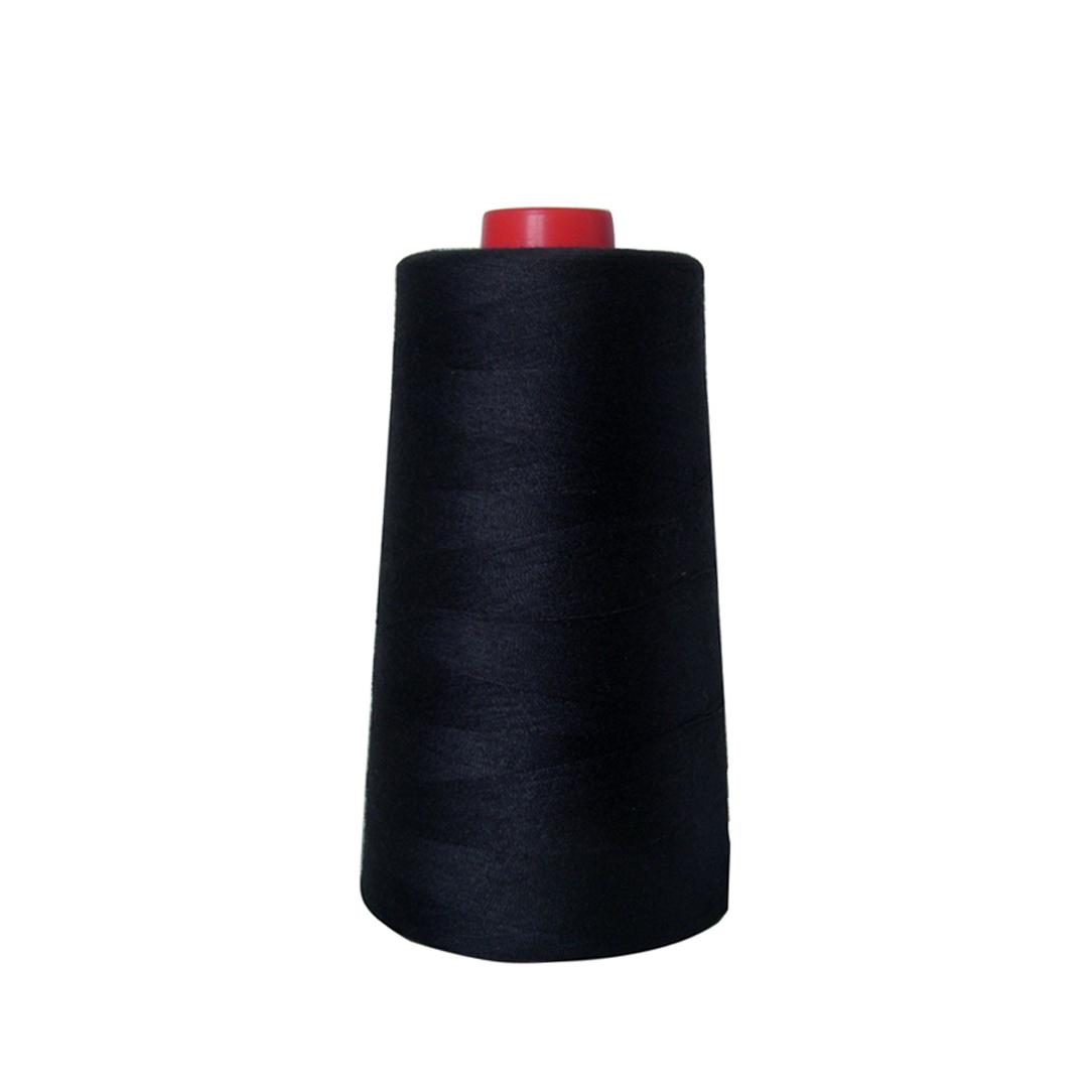 胜家SINGER 家用电动包缝机 专用宝塔线 缝纫线 车缝线 黑色