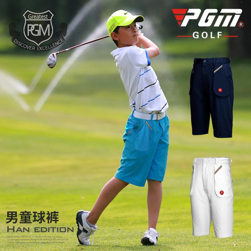 新款!PGM正品 高��夫服�b �和�高��夫服�b 男童短� 夏季衣服
