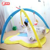 猫咪自嗨逗猫棒猫玩具抖音网红同款躺着玩的小老鼠逗猫玩具套装