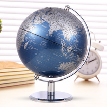Powerful large HD Globe 20cm Middle School students high school students special Study home furnishings teaching version medium office decoration students with the world map Instrument ball creative Childrens Enlightenment