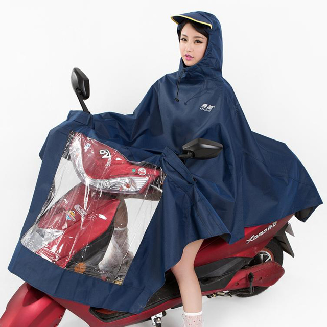 Tyrannosaurus Rex 041 single raincoat electric car battery car motorcycle raincoat raincoat old worker rainproof cloth thickening