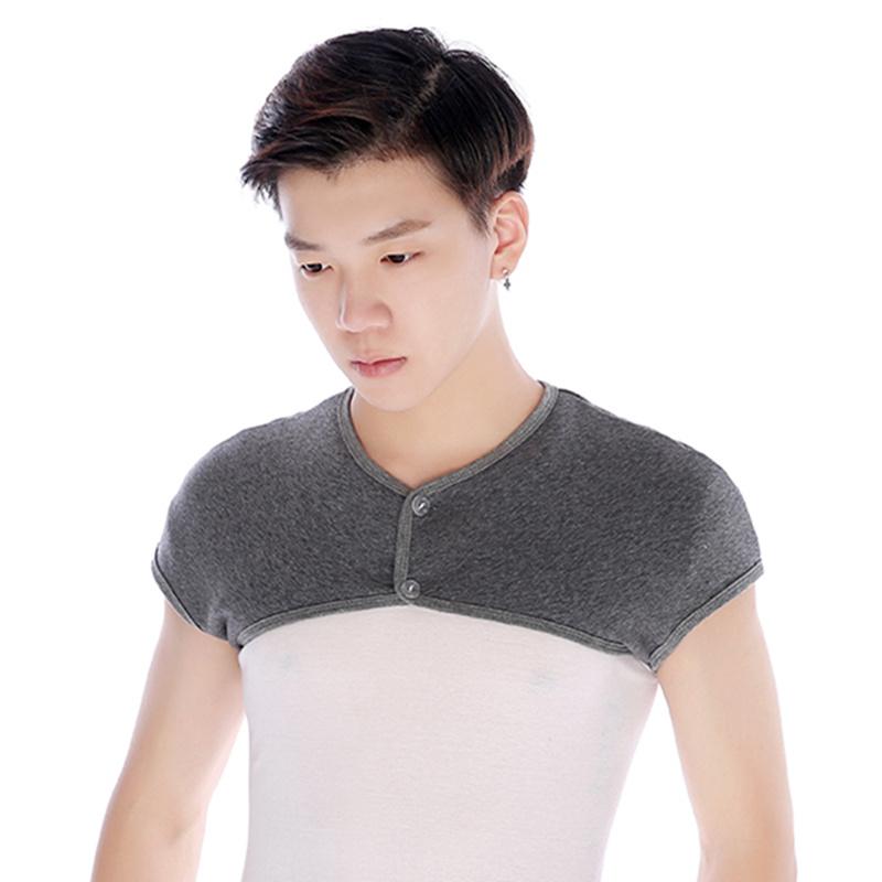 夏季护肩膀男女适用睡觉保暖产妇月子中老年空调房纯棉加绒坎肩