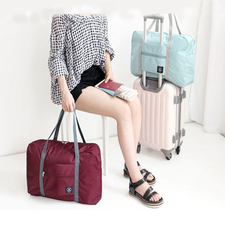 Portable multi-functional ultra light storage large capacity telescopic trolley case storage bag