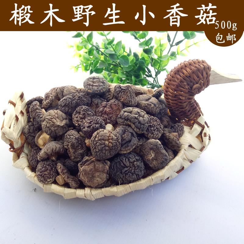 井冈山椴木小香菇农家磨菇500g香菇自产山珍鲜香肉厚冬菇特产干货