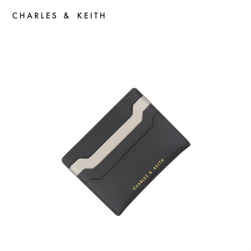 Charles & Keith card bag ck6-50680739-2 European and American simple color matching ladies card bag