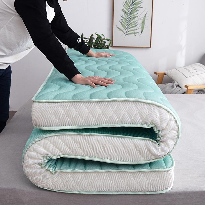 希尔顿乳胶床垫软垫加厚1.8m家用双人酒店榻榻米褥子立体加厚10cm138.00元包邮