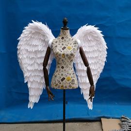 成人翅膀羽毛道具模特 走秀维密秀表演晚会演出演出服摄影网红墙图片
