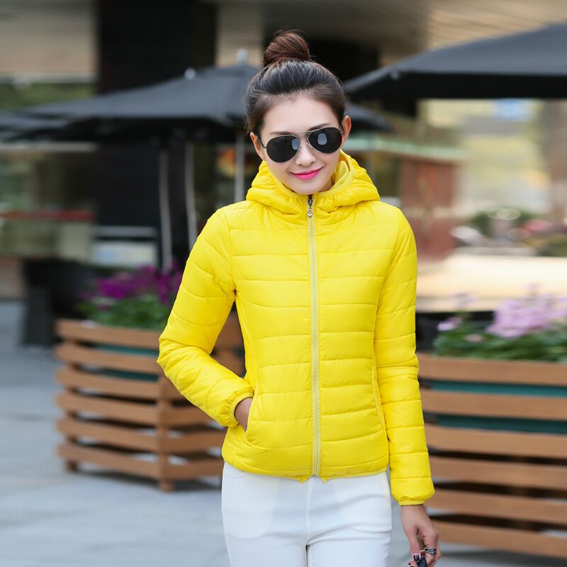 2019 winter down cotton padded jacket Korean version loose thickened bread jacket short cotton padded jacket womens jacket