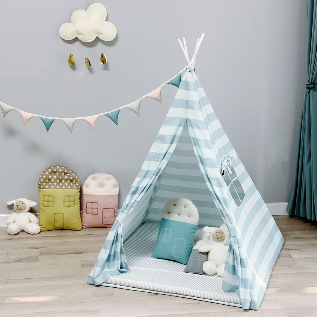 儿童帐篷亲子游戏屋玩具小屋可爱小帐篷北欧风儿童房装饰摄影道具限10000张券