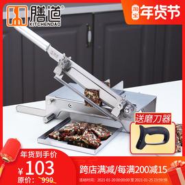 膳道阿胶糕切片机家用小型手工切牛扎糖雪花酥切刀固元膏切片机