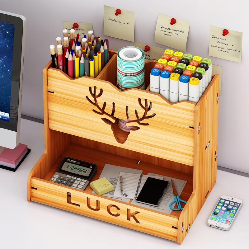 学习博主笔筒北欧个性简约收纳盒儿童桌面摆件女ins可爱创意笔桶